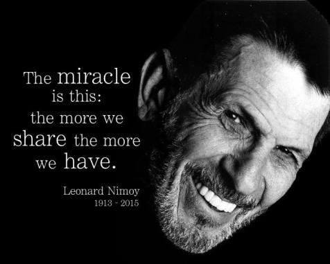 Mister Spock ist wunderbar 28.02.2015